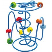 Hape Spring-A-Ling Wooden Bead Maze