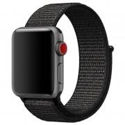 Apple Watch Series 5/4/3/2/1 Nylon Strap - 40mm, 38mm - Black