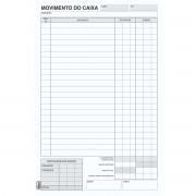 LIVRO MOVIMENTO CAIXA PEQUENO 1/18 100 FOLHAS PCT.C/10
