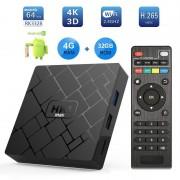TV BOX HK1 Max 4K Android 8.1 4GB RAM 32GB ROM Kodi 18 RK3228 Quad Core Wifi Lan Slot Card