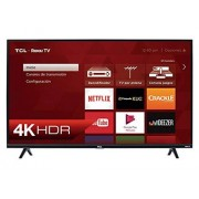 TCL Pantalla 65 4K UHD, Smart TV, Roku TV (2019) 65S425-MX