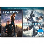 DIVERGENT / INSURGENT 2-Pack DVD Movie Double Feature (Both Divergent Series DVD Movies Together) Shailene Woodley