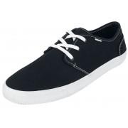 TOMS Black Canvas Carlo Herren-Sneaker EU41, EU42, EU43, EU44, EU45, EU46 Herren