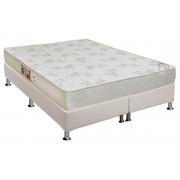 Conjunto Box-ColchãoCastor D33 Sleep+Cama - King 193