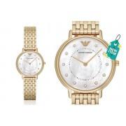 Emporio Armani Ladies Emporio Armani Gold-Tone AR11007 Dress Watch