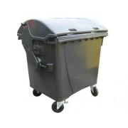 Plastový kontejner na odpad 1100 L- černý