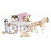 Breyer Stablemates Princess And Carriage Set