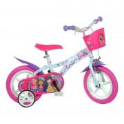 Bicicleta pentru fetite Barbie, 12 inch, maxim 40 kg, 3 ani+