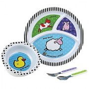 Amazing Baby Melamine Set Farm