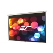 "SCREEN, Elite Screens M100XWH, Manual, 100"" (16:9), 124.5 x 221.0 cm, White (M100XWH)"