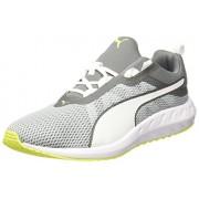 Puma Men's Flare 2 Quiet Shade and White Running Shoes - 10 UK/India (44.5 EU)