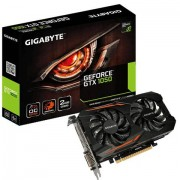 Gigabyte GV-N1050OC-2GD scheda video GeForce GTX 1050 2 GB GDDR5