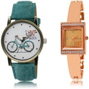 The Shopoholic White Rose Gold Combo Latest Fashionable White And Rose Gold Dial Analog Watch For Girls Designer Watches For Women