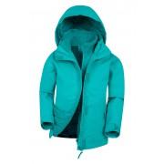 Mountain Warehouse Fell Kids 3 in 1 Jacket - Teal 11-12