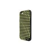 Capa em TPU Fluorescente para iPhone 6, Iluv, Capa Anti-Impacto, Preta