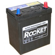 Rocket 40Ah 12V autó akkumulátor 42B19L ASIA vékonysaru jobb+ (+AJÁNDÉK!)