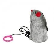 Myš na gumičce mix barev s catnipem 9cm