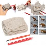 Dinosaur Excavation Kit Archaeology Dig Up History Skeleton Fun Kids Toy Gift