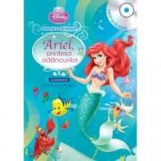 Disney Audiobook. Ariel printesa adancurilor. Povesti cu printese carte + CD