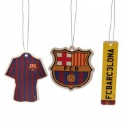 FC Barcelona 3db-os autó illatosító