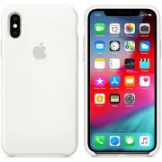 Apple Custodia Apple In Silicone Per Iphone Xs - Bianco
