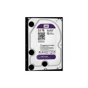 Hd Purple 2tb Sata 6 Gb/s 5400rpm 64mb Wd20purx Ideal para Vigilância