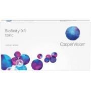Biofinity XR toric (3 linser): +4.50, -3.75, 155