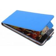 Blauwe TPU Luxe Flipcase voor de Nokia 8