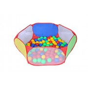 Playking Balak's Wonder Ball Pool with 50 Balls, Pop-up Play Tent for Kids