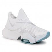 Pantofi NIKE - Air Zoom Superrep BQ7043 100 White/Metallic Silver