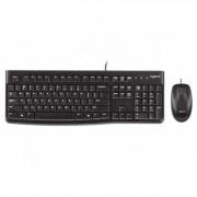 Logitech Desktop MK120 Teclado y Ratón USB Negro