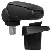 [pro.tec]® Lakťová opierka pre Suzuki SX4 + Fiat Sedici - lakťová opierka - s odkladacím priestorom - tkanina - čierna