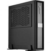 Carcasa pc , Silverstone , Silent SST/ML08B Milo Slim HTPC Mini ITX , negru