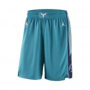 Charlotte Hornets Jordan Icon Edition Swingman NBA-Shorts für Herren - Blau