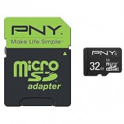 PNY Micro Sd Class 10 32gb + Sd Adapter