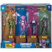 Fortnite Pack de 4 Figuras, 17 piezas en total !! bestoys
