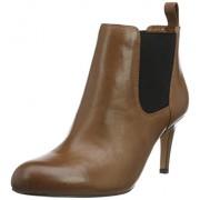Clarks Women's Carlita Quinn Beige Boots - 5 UK/India (38 EU)