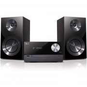 LG Cm2460 Xboom Micro Hi-Fi 2.0 Ch Con Lettore Cd Mp3 Usb Bluetooth Colore Nero