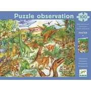 Djeco / Discovery Puzzle Dinosaurs