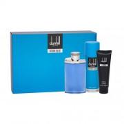 Dunhill Desire Blue set cadou Apa de toaleta 100 ml + Gel de dus 90 ml + Deodorant 195 ml pentru bărbați