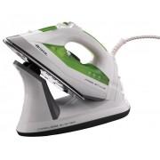 Fier de calcat Ariete fara fir, 2400 W, 0.33 L, 110 g/min, Alb-Verde