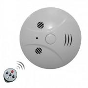 Kamera v detektore dymu na diaľkové ovládanie