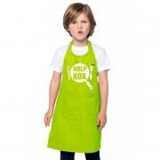 Shoppartners Hulpkok keukenschort lime groen kinderen - Action products