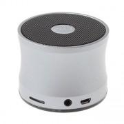 Boxa Portabila Metalica Cu Conexiune Wireless Argintie