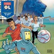 Olympique Lyonnais Bande dessinée Qui a volé OL - Foot Lyon