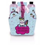 Lady Cotton Set cosmetic pentru baie There Will Always be Haters and Unicorns in geantă (Bath Set)