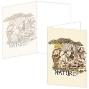 ECOeverywhere Nurture Boxed Card Set 12 Cards and Envelopes 4 x 6-Inches Multicolored (bc12340)