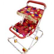 Rawzz red baby chota pram walker cum rocker stroller for baby Stroller Cum Rocker
