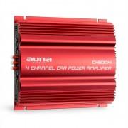 Auna C500.4, 4-канален усилвател с накрайник, 4 x 65 W RMS (W2-C500.4)