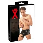 LATEX - boxer péniszköpennyel (fekete)